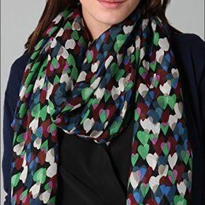 DVF Print Scarf in Wool/Silk/Cashmere Blend
